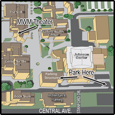 Map to the theater